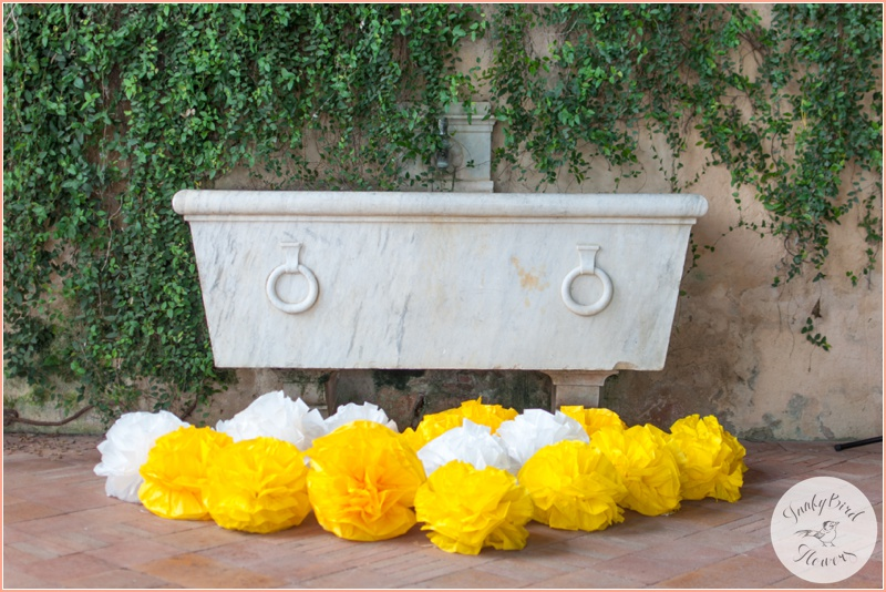 FunkyBird wedding flowers in Tuscany 10