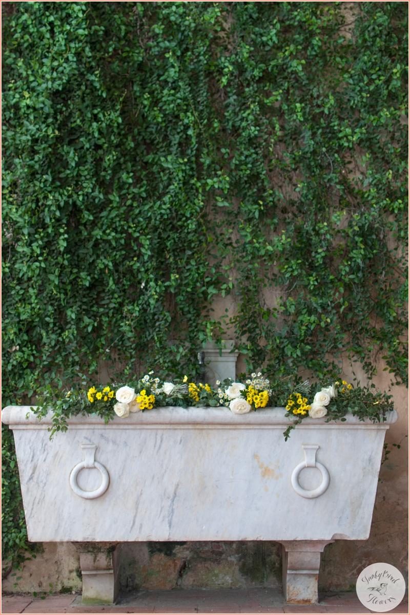 FunkyBird wedding flowers in Tuscany 6