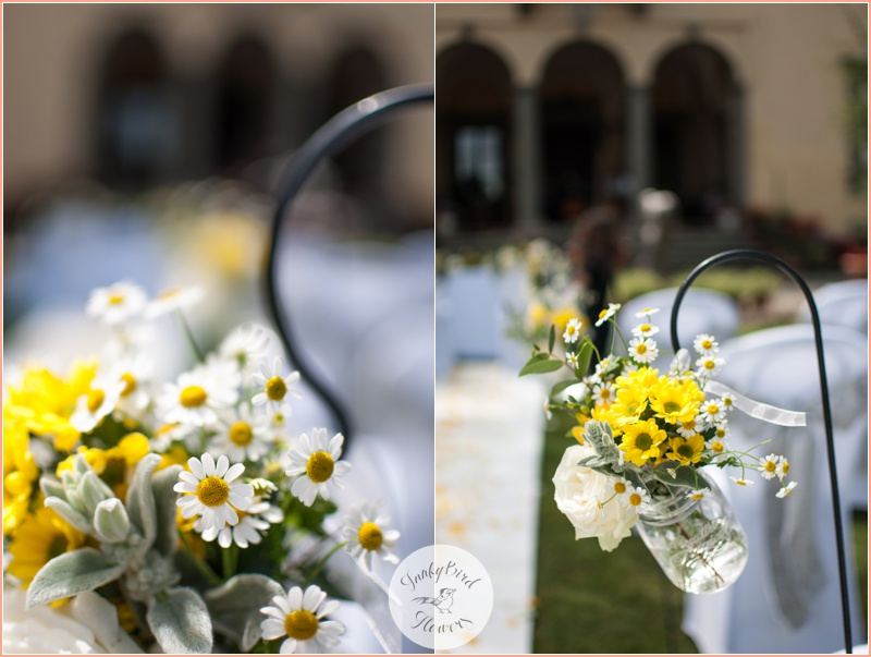FunkyBird wedding flowers in Tuscany 7