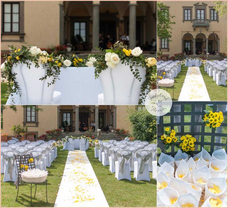 FunkyBird wedding flowers in Tuscany 8