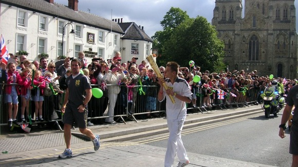 We all remember this fabulous summer day in 2012 when the Olympic torch passed through Selby.