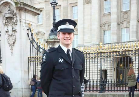 """A MAN having a heart attack in York city centre has been saved by a teenager who stepped in to help.  When the man collapsed in Davygate, 18-year-old Andrew Richards, cleared the crowd around him and used the first aid skills he had learned volunteering with St John's Ambulance.  Andrew has now been presented an award at Buckingham Palace in recognition that his quick thinking and first aid training saved the man's life.  In recent months Andrew has proved himself as something of a hero - helping a person badly injured after falling on an escalator in a York shop, helping an unconscious young woman in Parliament Street and running across the city centre to help a man with a head injury.  He said: """"I'm not the sort of person that can just leave a job that needs doing - I can't walk past someone that needs help and not help.  """"It's nice to be someone who can make a difference. If I was in that situation I wouldn't want someone to do the wrong thing to me.  """"I think it's part and parcel of wearing the uniform.""""  Andrew, who lives in Badger Hill and studies applied sciences at York College , has been credited with saving the man's life in Davygate after stopping when he saw a commotion while off duty and walking through town.  Realising the man, whose name is not known, was suffering from a heart attack, Andrew sat him upright against a wall and pulled his knees up to his chest and raised his arms to help circulation. He appealed to nearby people for aspirin and told the man to hold it under his tongue while calling for an ambulance.  Andrew was presented the Young Achievers' award by Princess Anne - who recognised him from when he was previously named cadet of the year - at a reception last week.  Adrian Lee, area manager for St John Ambulance York Vale, said: """"Andrew has been an asset to his local community all year round and he fully deserved to be rewarded with this invitation."""""""