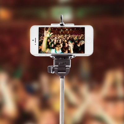 FROMRed5 -THE SELFIESTICK   YOUR PICTURES WILL BE HEAD AND SHOULDERS ABOVE THE REST    ONLY £6.95   The SelfieStick allows you to take photos and videos from a whole new perspective. The selfie has become a popular trend on social media in the past few years and this gadget is here to help you create your own fabulous shots.  If you've ever tried to take a selfie (and let's be honest, even if you won't admit it, it's something everyone has been tempted to try) then you'll have found it's much trickier than it looks, especially if you don't want a random arm in-shot. Those instagram people make it look so easy! That's where the Selfie Stick comes in, it's easy to use and all you'll need is a self-timer app on your smartphone.  This telescopic camera/smartphone grip is super versatile as it fits most models of camera and phone and extends to a brilliant 100cm. Use it to take self-portraits and group shots where everybody fits in the frame, over crowds at gigs and festivals, on holiday for family snaps, for extreme sports and even DIY (you can use it to look at hard to reach areas like gutters or roof cavities - not very rock n roll but useful nonetheless)  http://www.red5.co.uk/gadgets/the-selfiestick.aspx