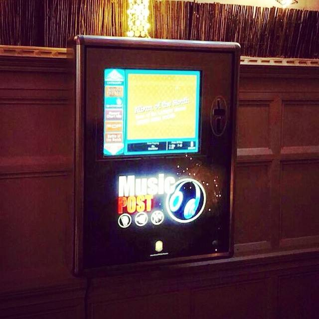 A brand new juke box for the nights there are not any Djs playing pick your best tracks and party in style.