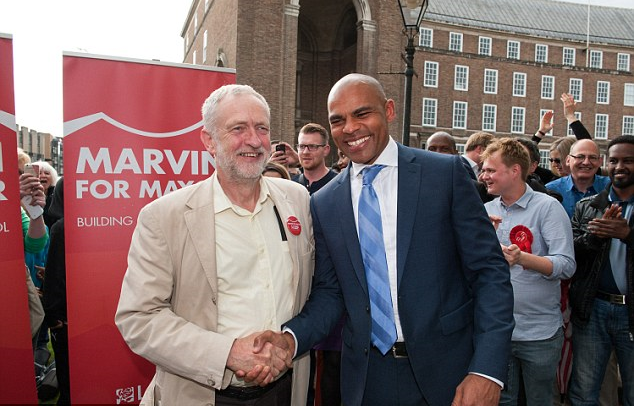 Labour Gain Bristol, As one of the Souths most wealthiest middle class cities votes in a Labour Mayor, this could be a testament to Labour reaching out to middle England..