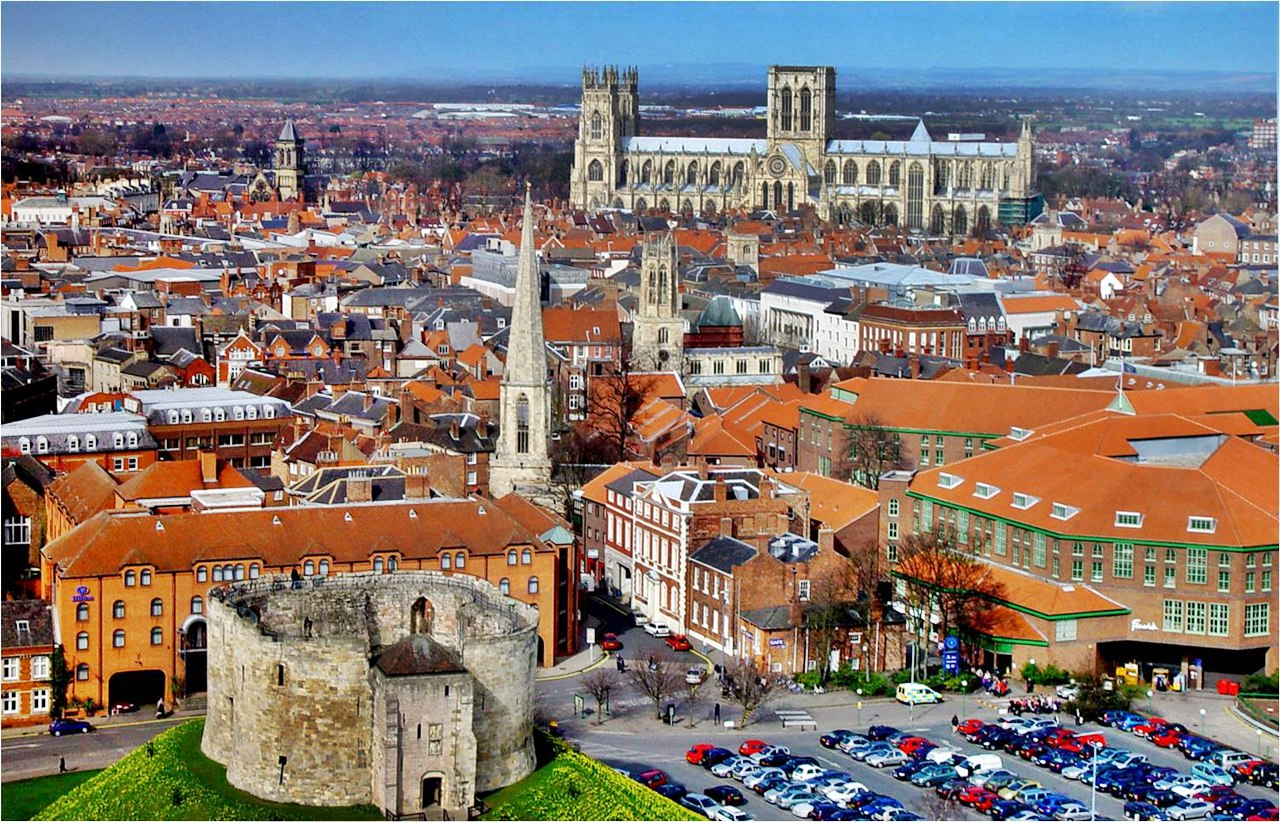The city of York in all of its splendour