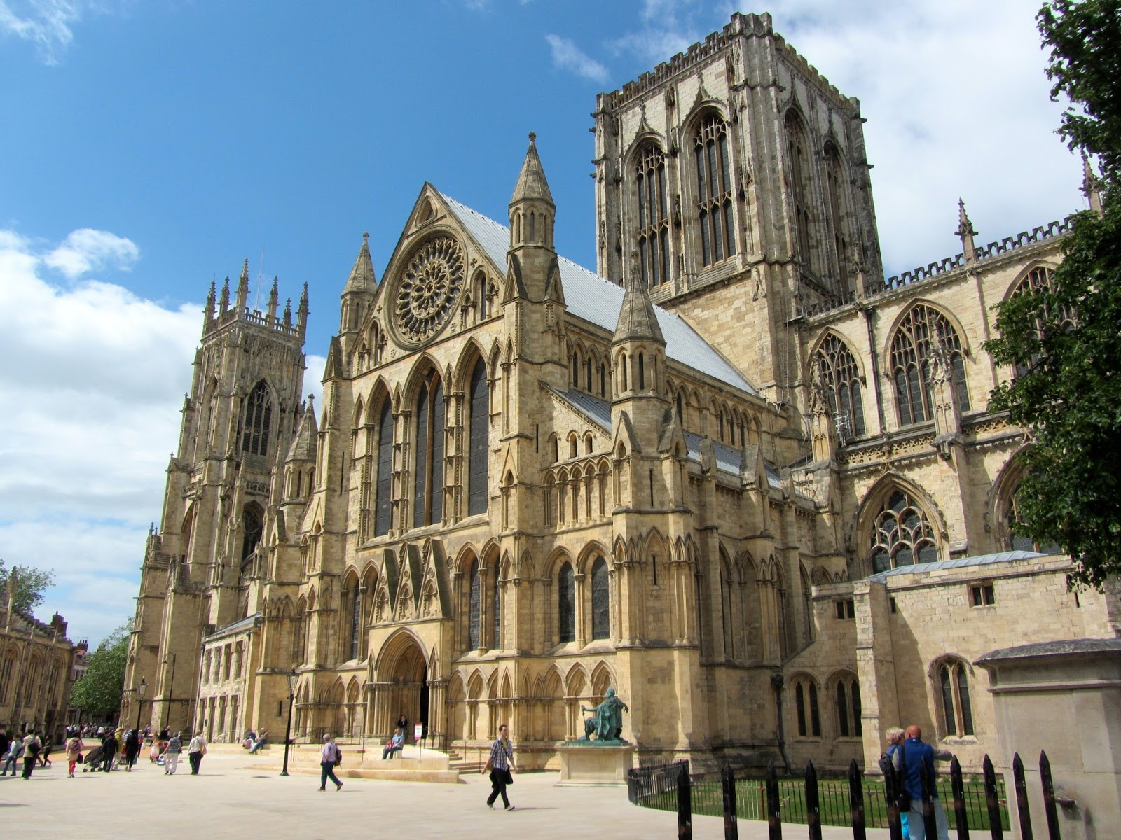 A breathtaking view of York Minster