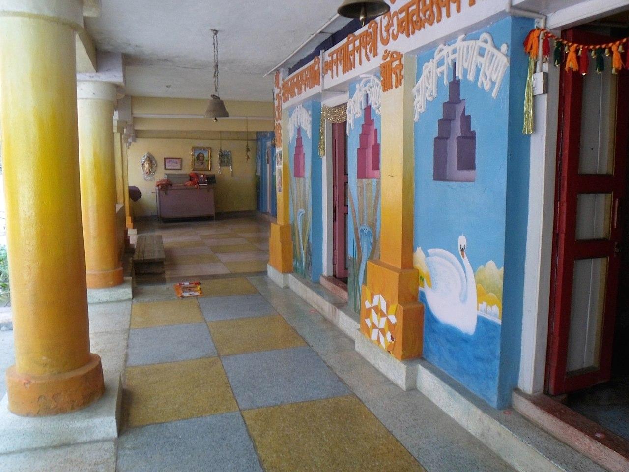 Ashram walkway