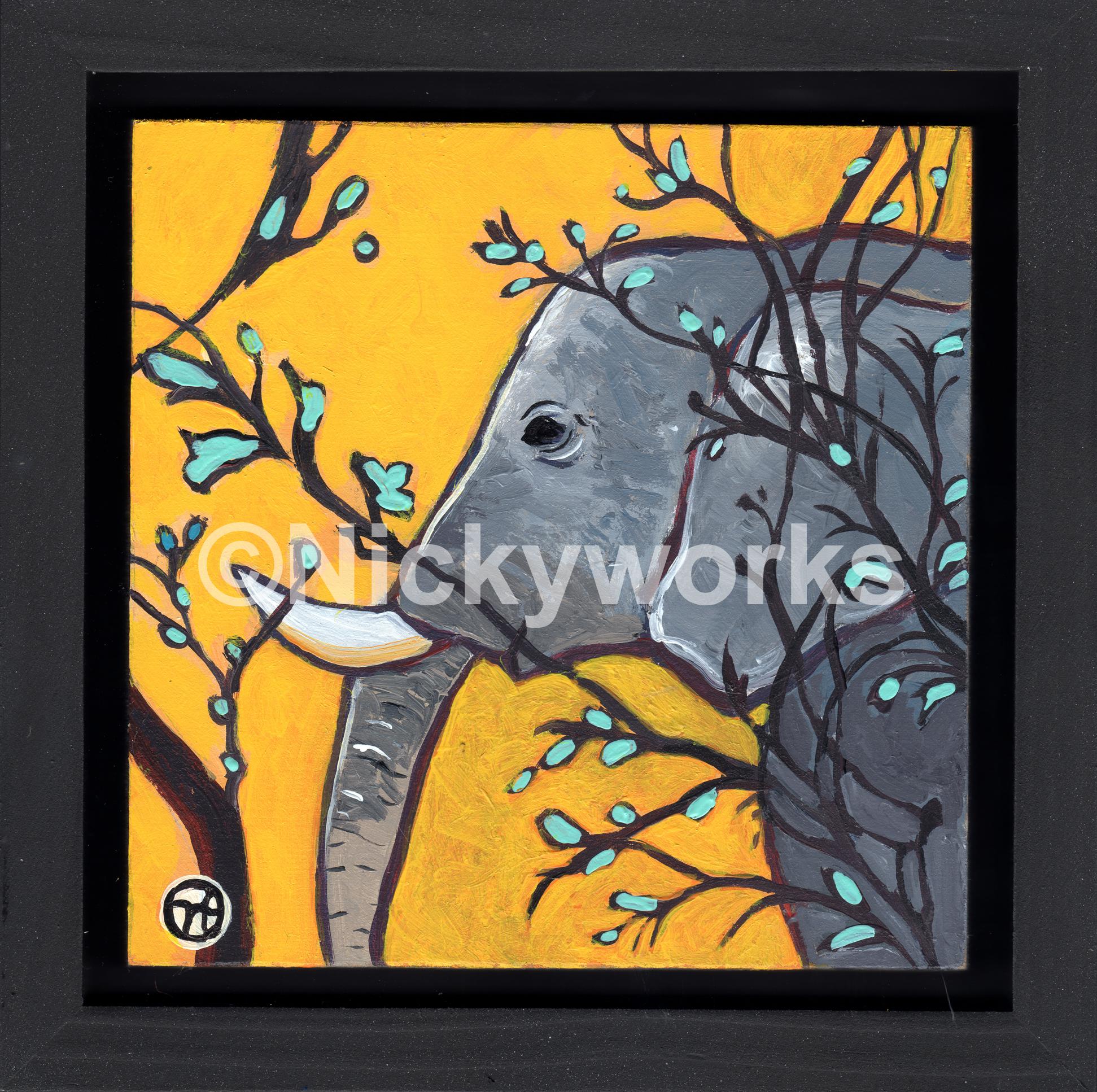 Yellow Elephant II
