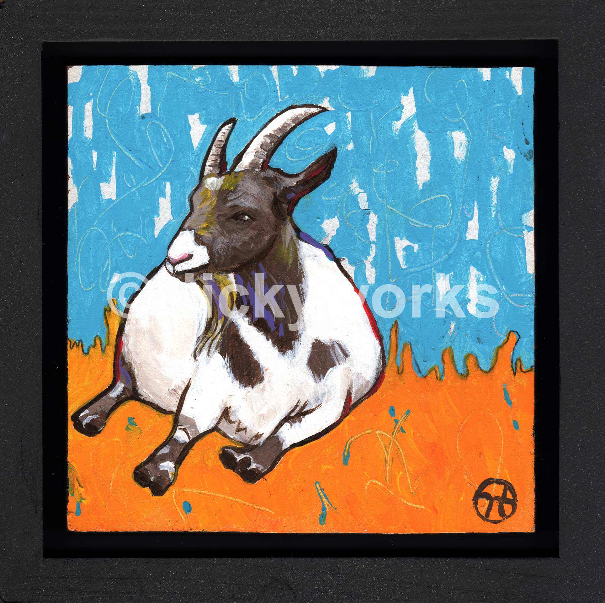The Sitting Goat