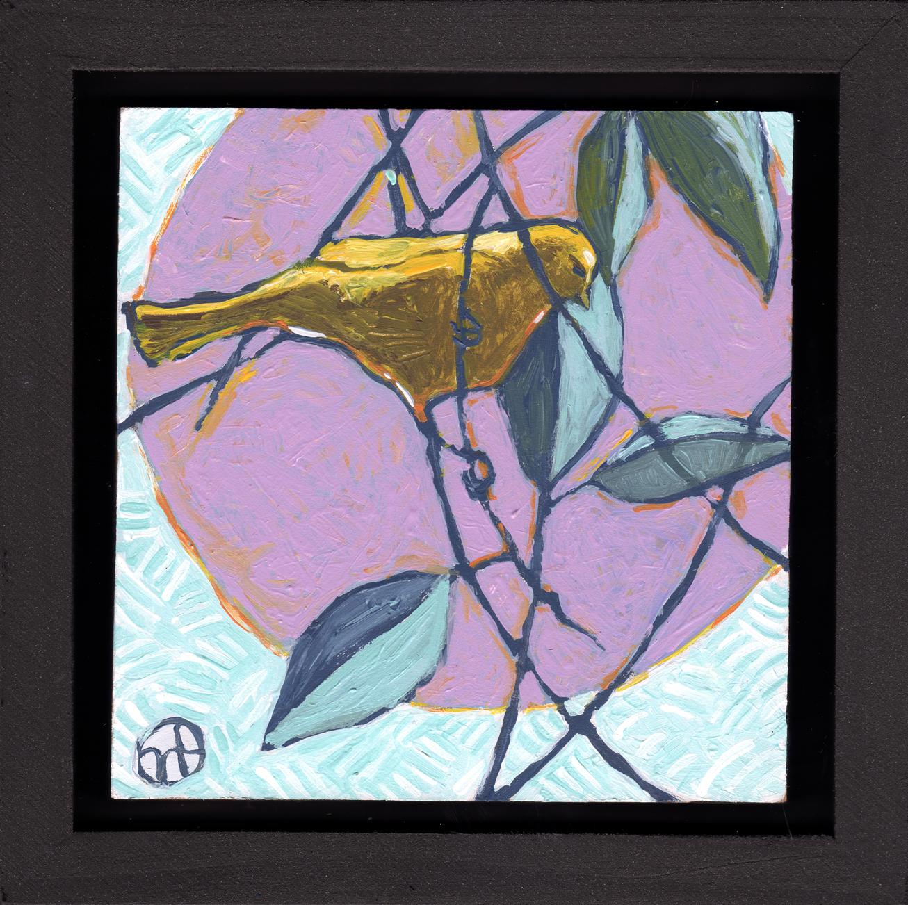 Untitled- Yellow Bird of Como Zoo, Saint Paul