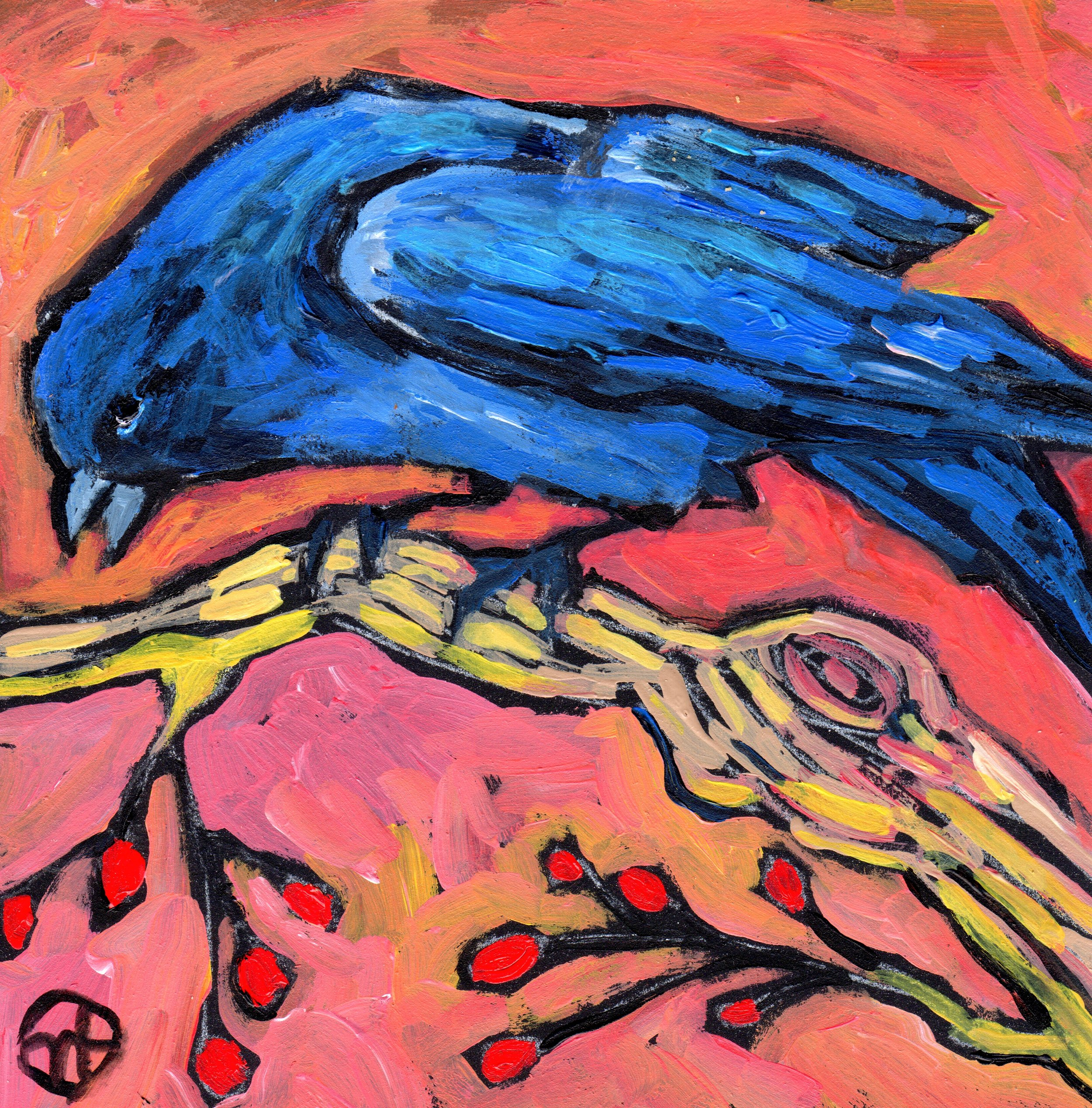 Untitled crow