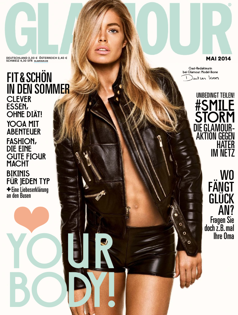 Glamour Germany  April 2014