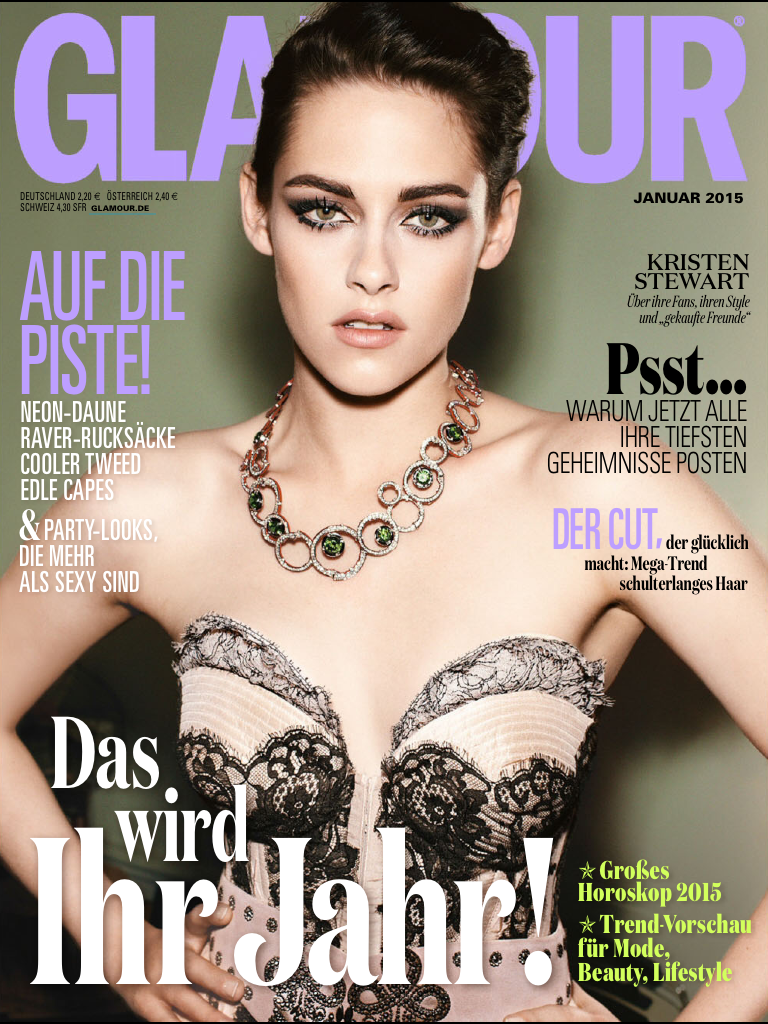 Glamour Germany January 2014
