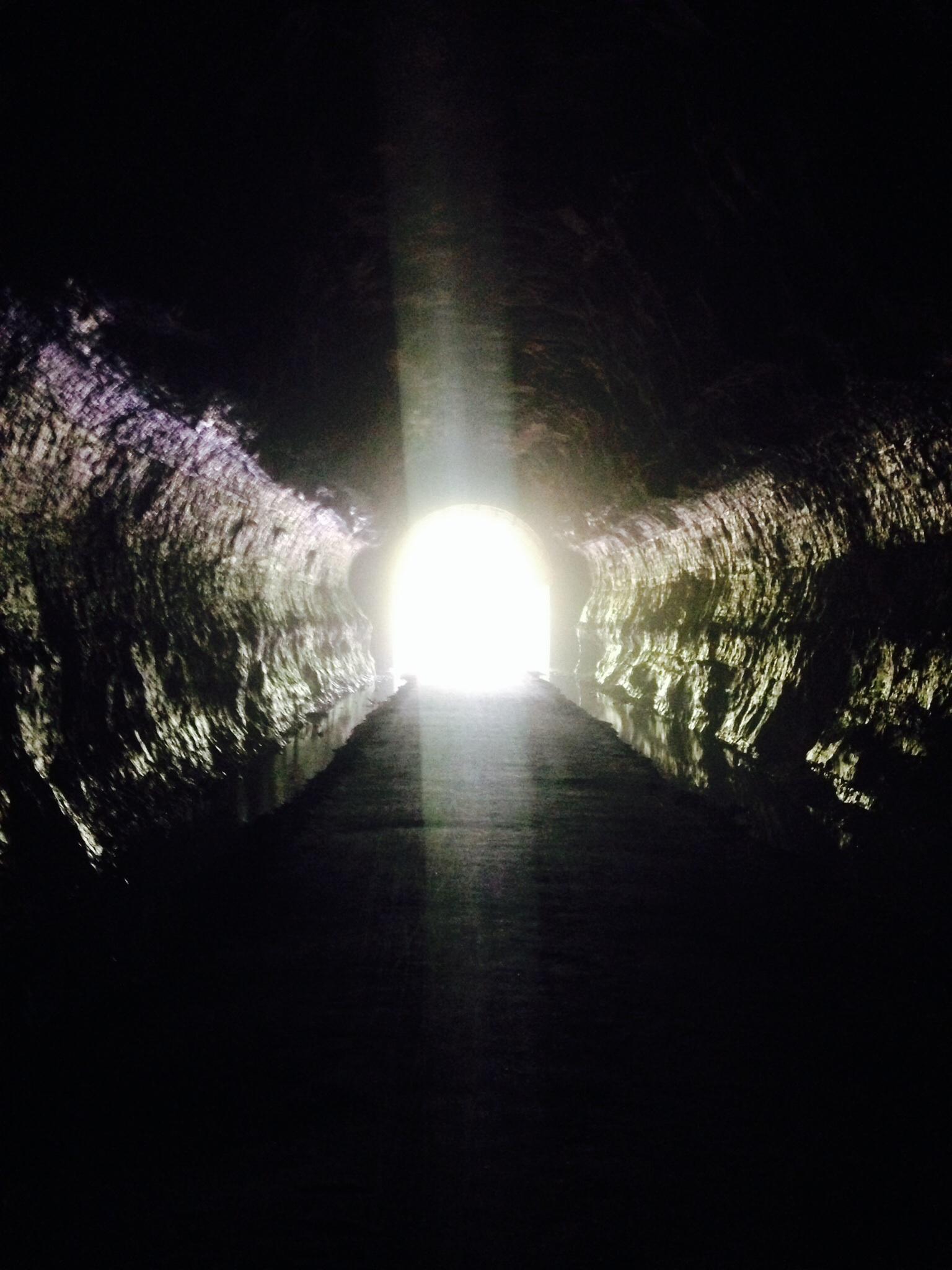 Walk toward the light!