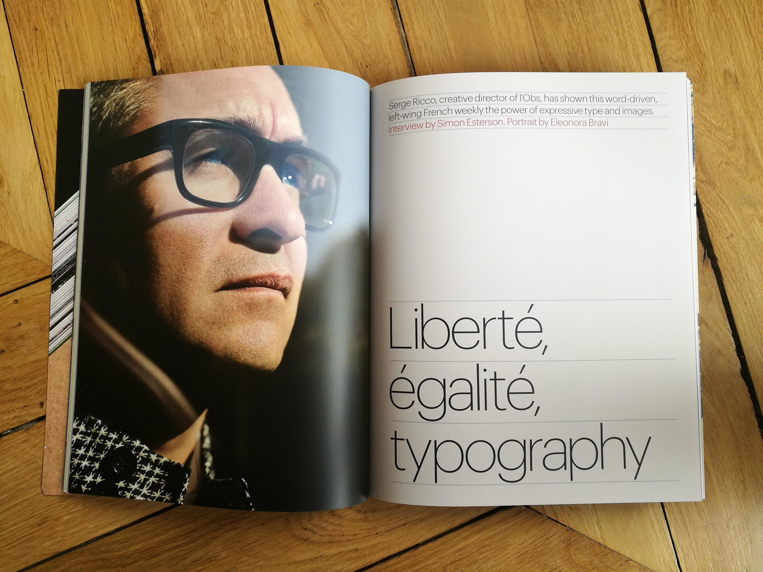 Interview Eye Magazine #97