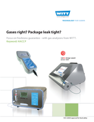 Brochure WITT Gas Analyzers