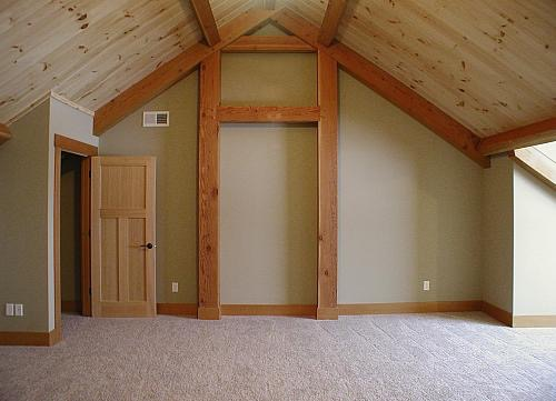 Clifton, WI Timber Frame: Bedroom