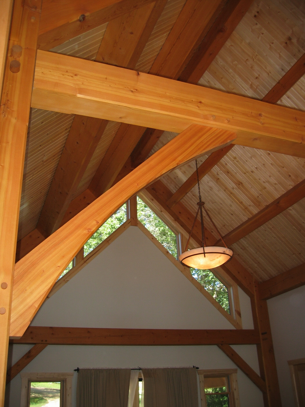 St. Joseph, WI Timber Frame: Exposed Beam