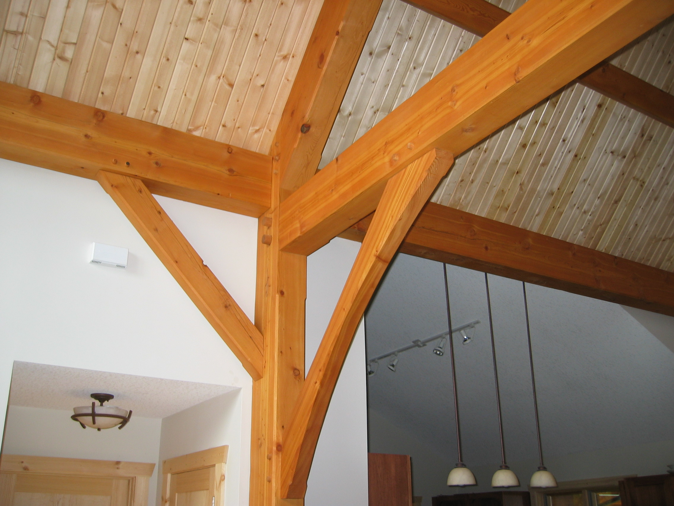 St. Joseph, WI Timber Frame: Exposed Timber