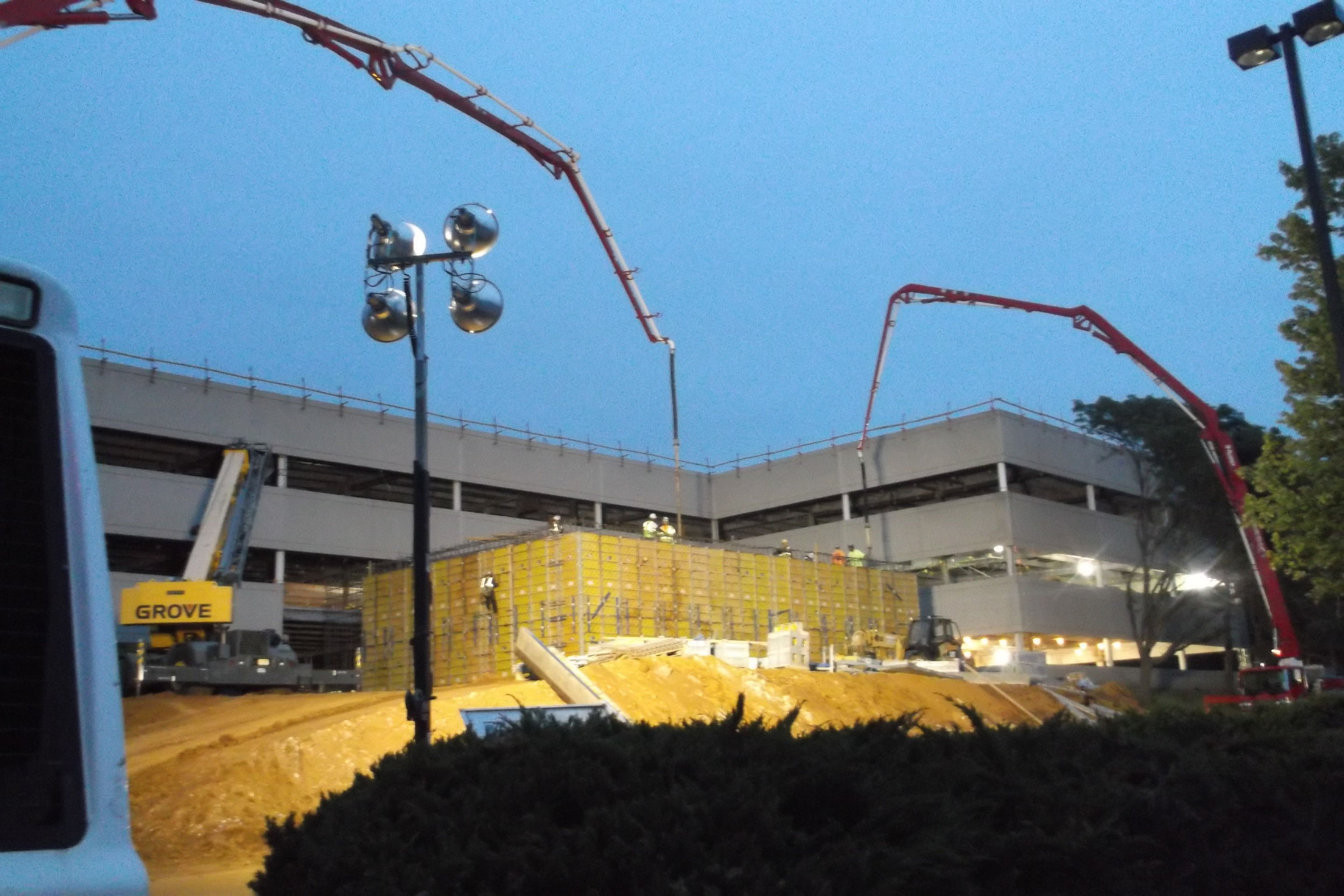 The Linear Accelerator being built at Memorial Sloan Kettering Hospital - Middletown, NJ