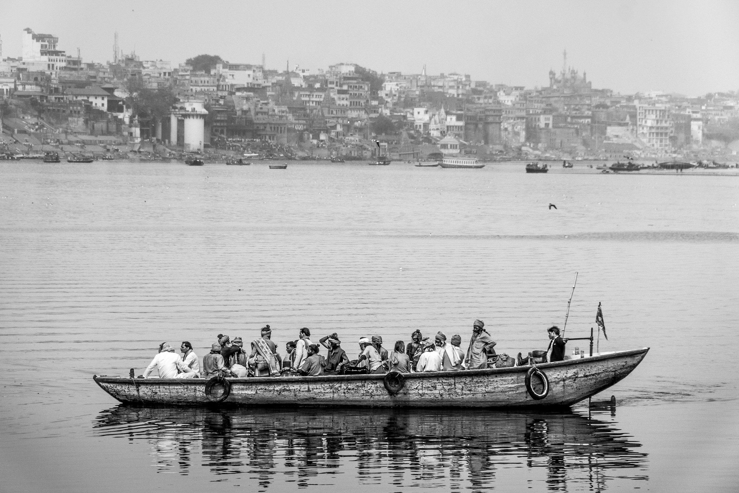 Almuerzo en el Ganges I