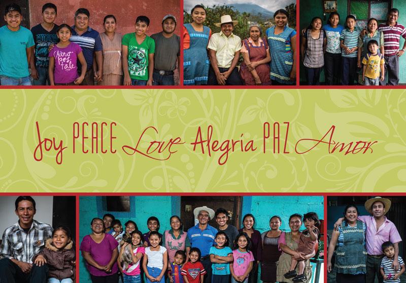 DLG love peace and joy card
