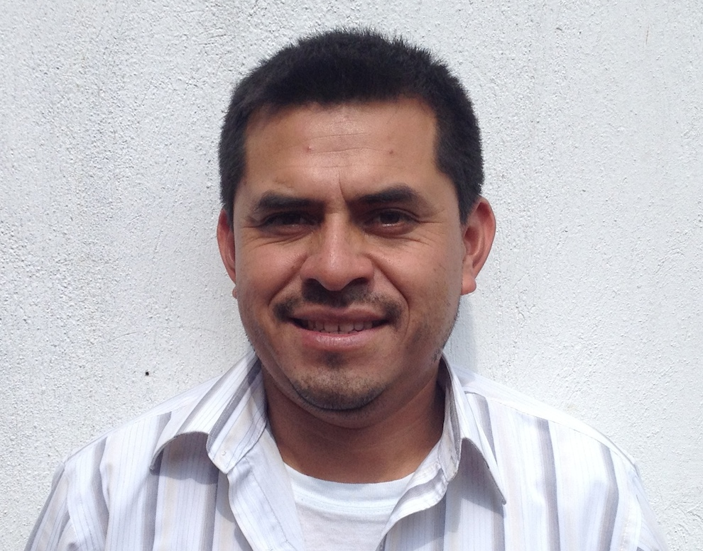 Manuel coffee farmer and head of San Miguel Coop