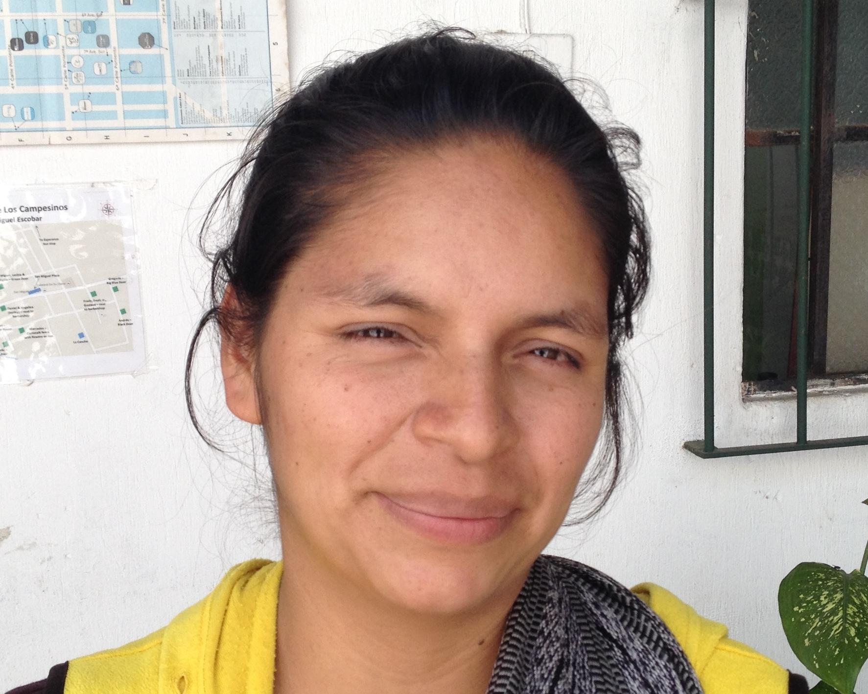Lesbia coffee farmer
