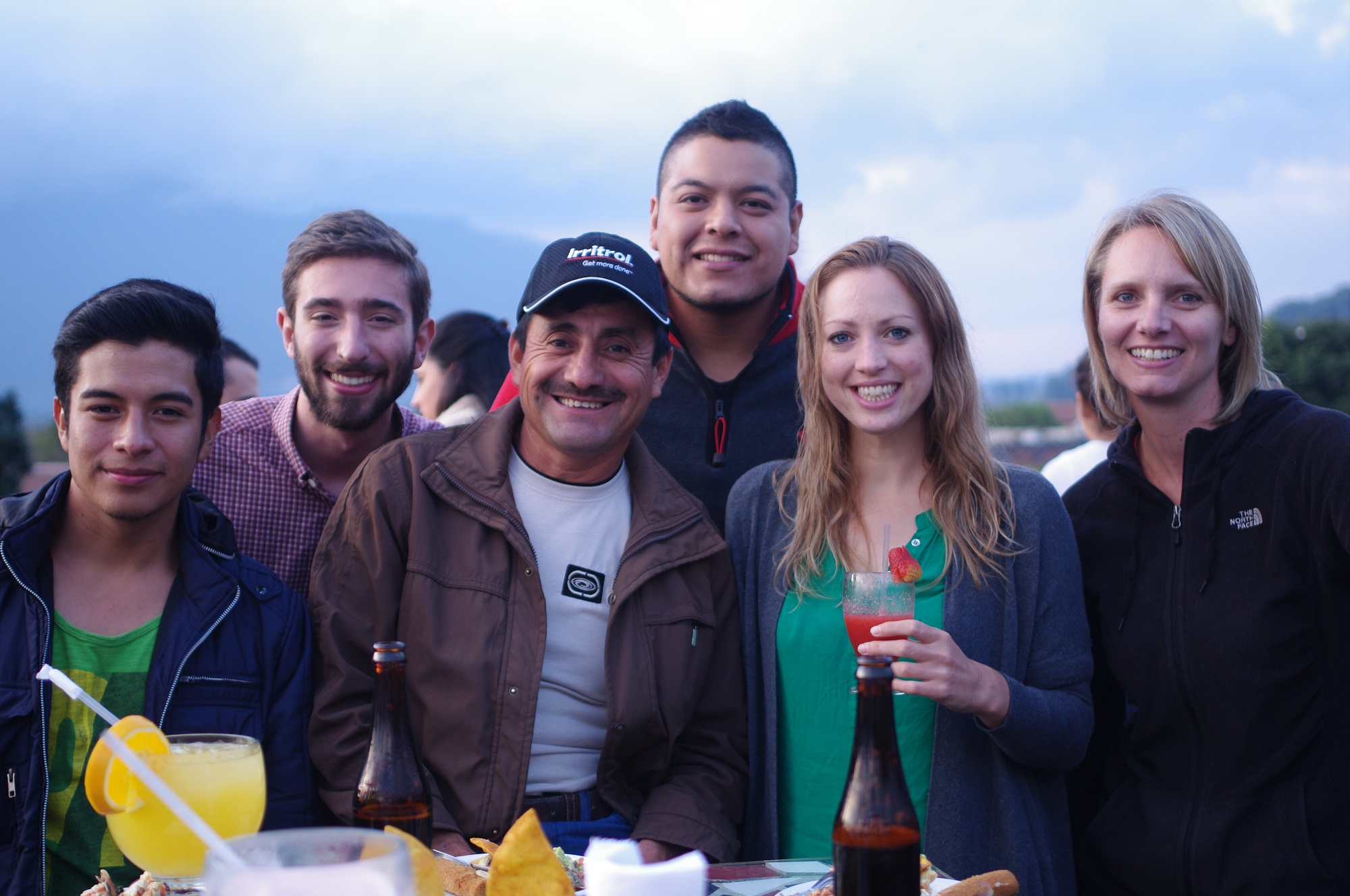 The DLG crew (without a few) celebrating a year of hard work at the convivio.