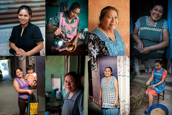 The women who make up and contribute to the San Miguel Escobar Cooperative and De la Gente's Community Tourism Program.