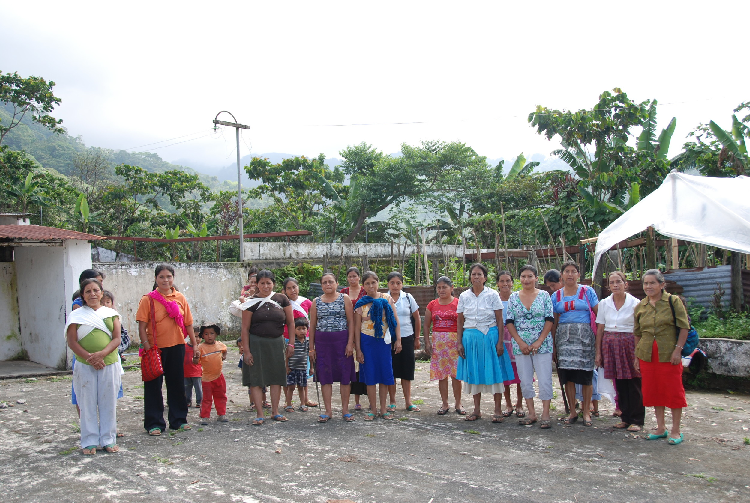 Women Cooperative Members from La Suiza, in the San Marcos District.