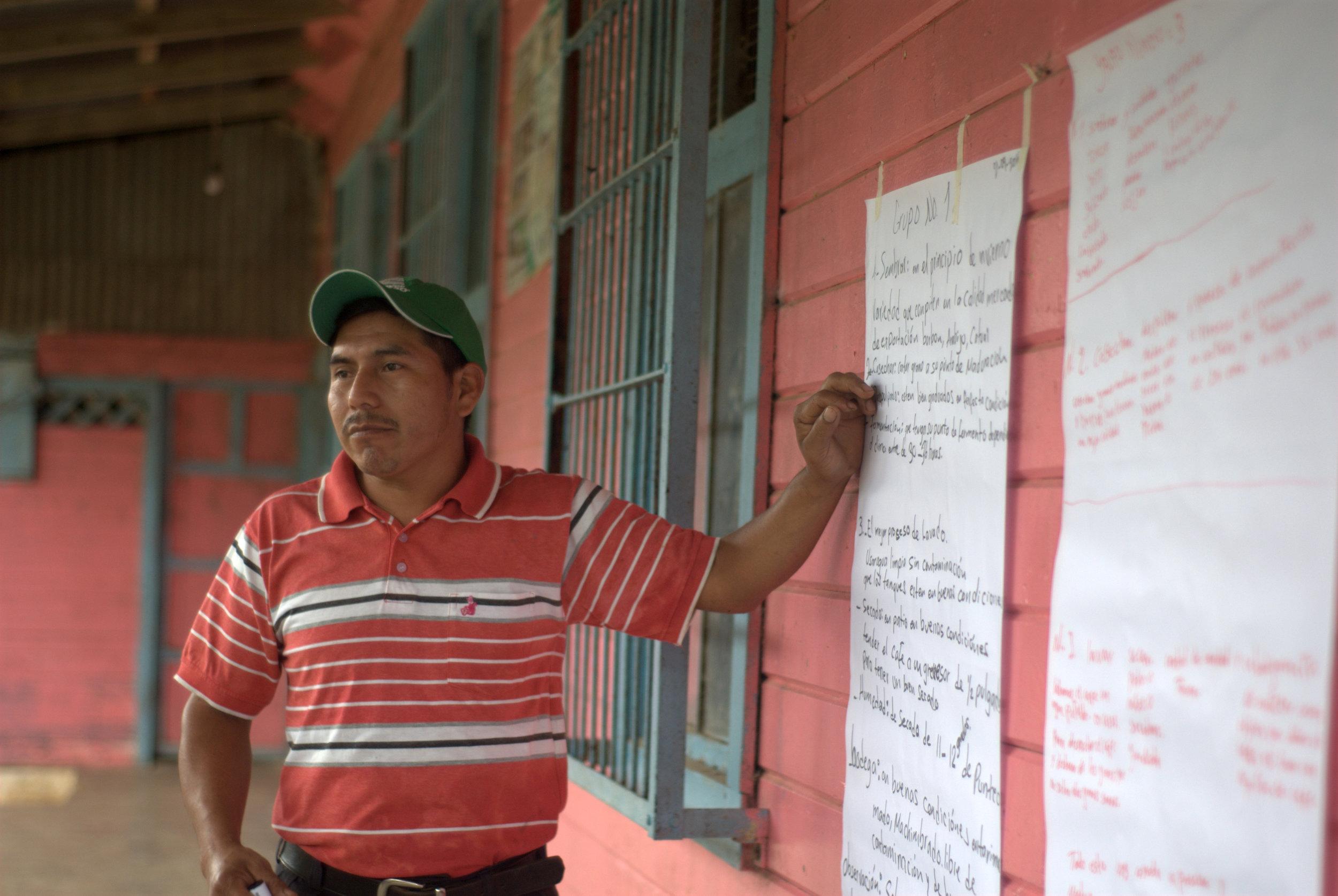 Franisco Jimenez, sharing his groups thoughts..jpg