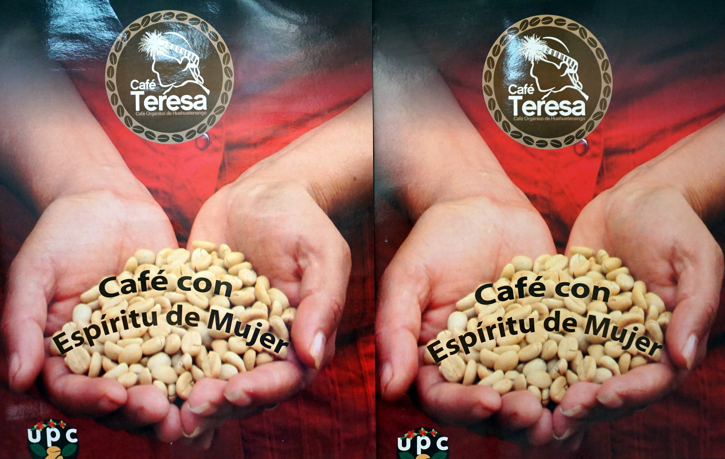 UPC's women's group sells their own branded coffee.