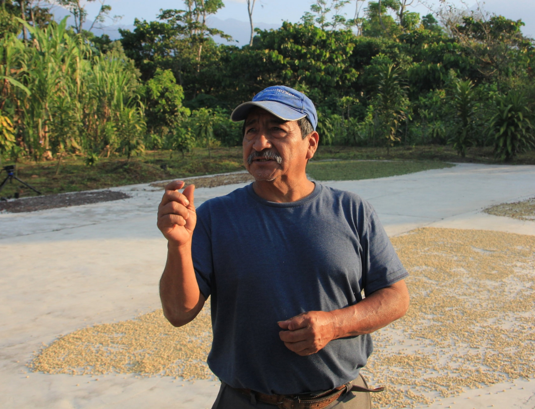 Rigoberto, the leader of APCASA