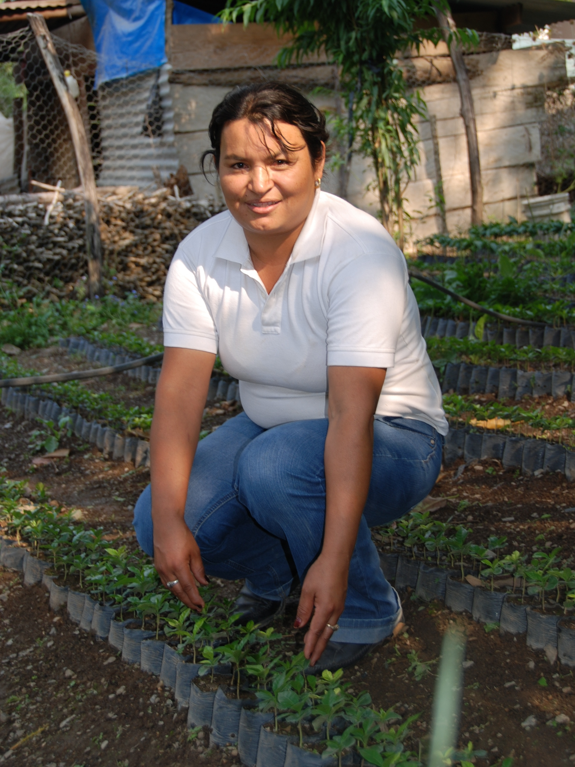 Orfa, the leader of the women's co-op within UPC