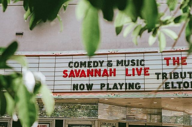 Back in Savannah again. ♥️🍑🌴 Researching, planning, networking, brainstorming. ⠀⠀⠀⠀⠀⠀⠀⠀⠀ Film photograph. Typography in the wild. Pink and green. A happy graphic designer. @TheSavannahTheatre ⠀⠀⠀⠀⠀⠀⠀⠀⠀ #pinkandgreen #dustypink #savannahga #shemeansbusiness #savannah #femaleentrepreneur #womenwhowork #womenwhodo #entrepreneur #graphicdesignforfilm #pinkneon #neon #marquees