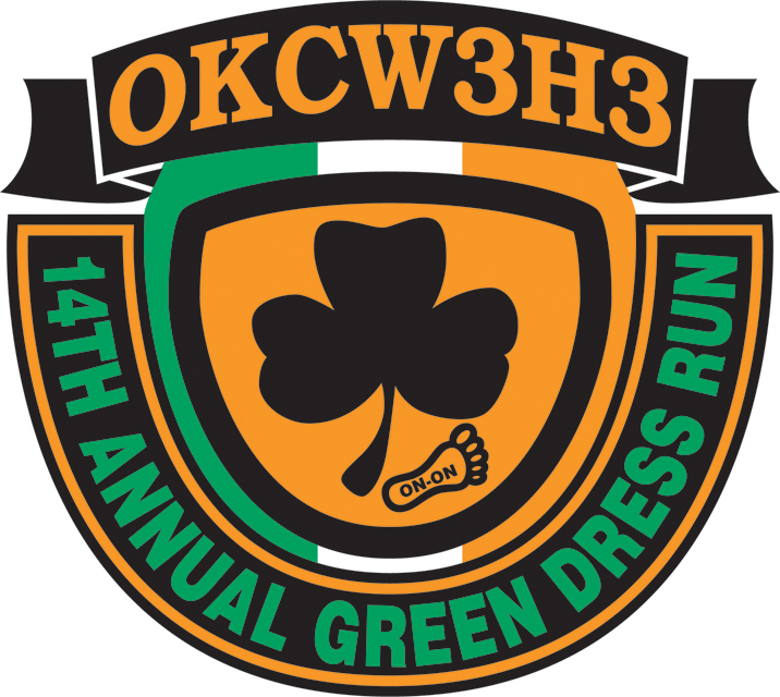 2014 OKC Green Dress Patch