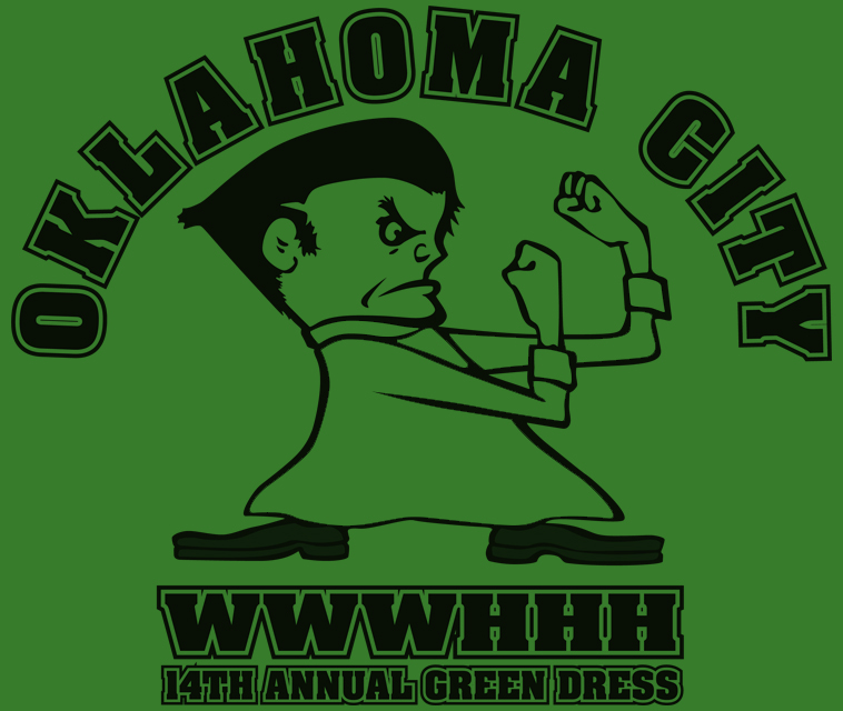 2014 OKC Green Dress T-Shirt