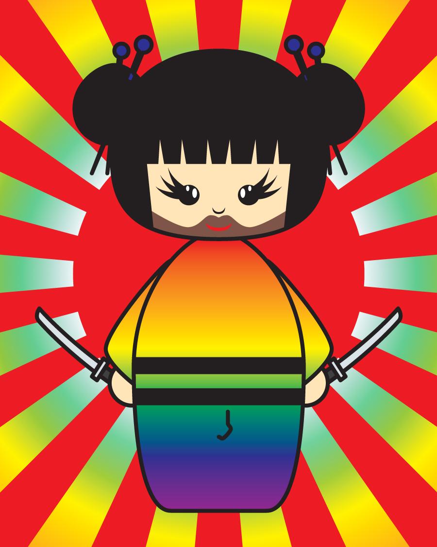 Gay-Sha Warrior