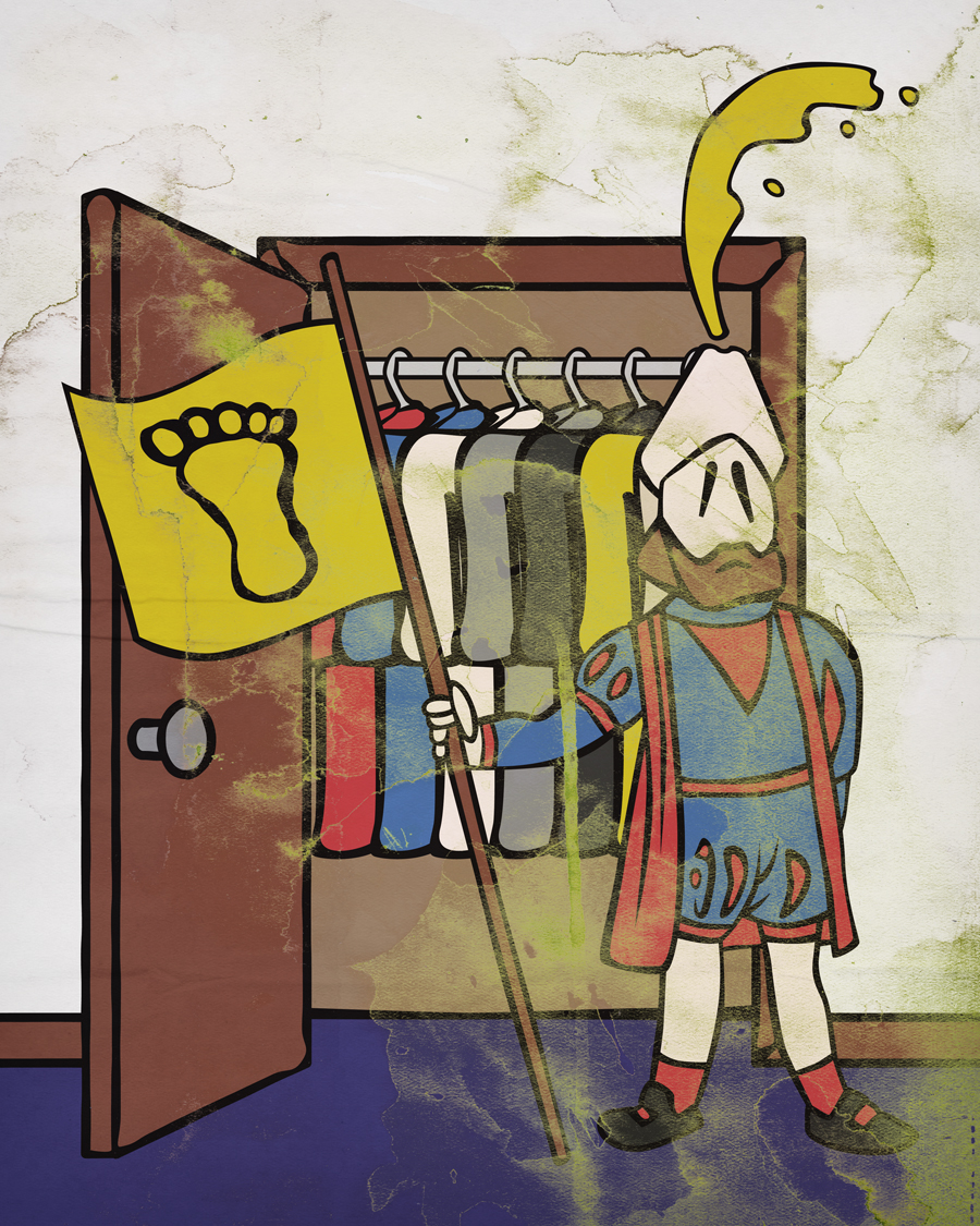 I Am Pisstopher Columbus And I Claim This Closet