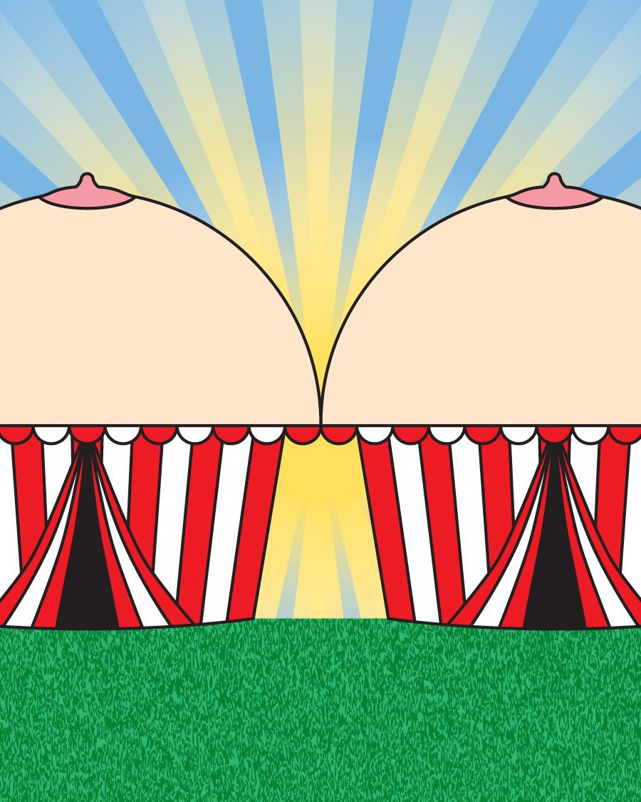 Tent Titties