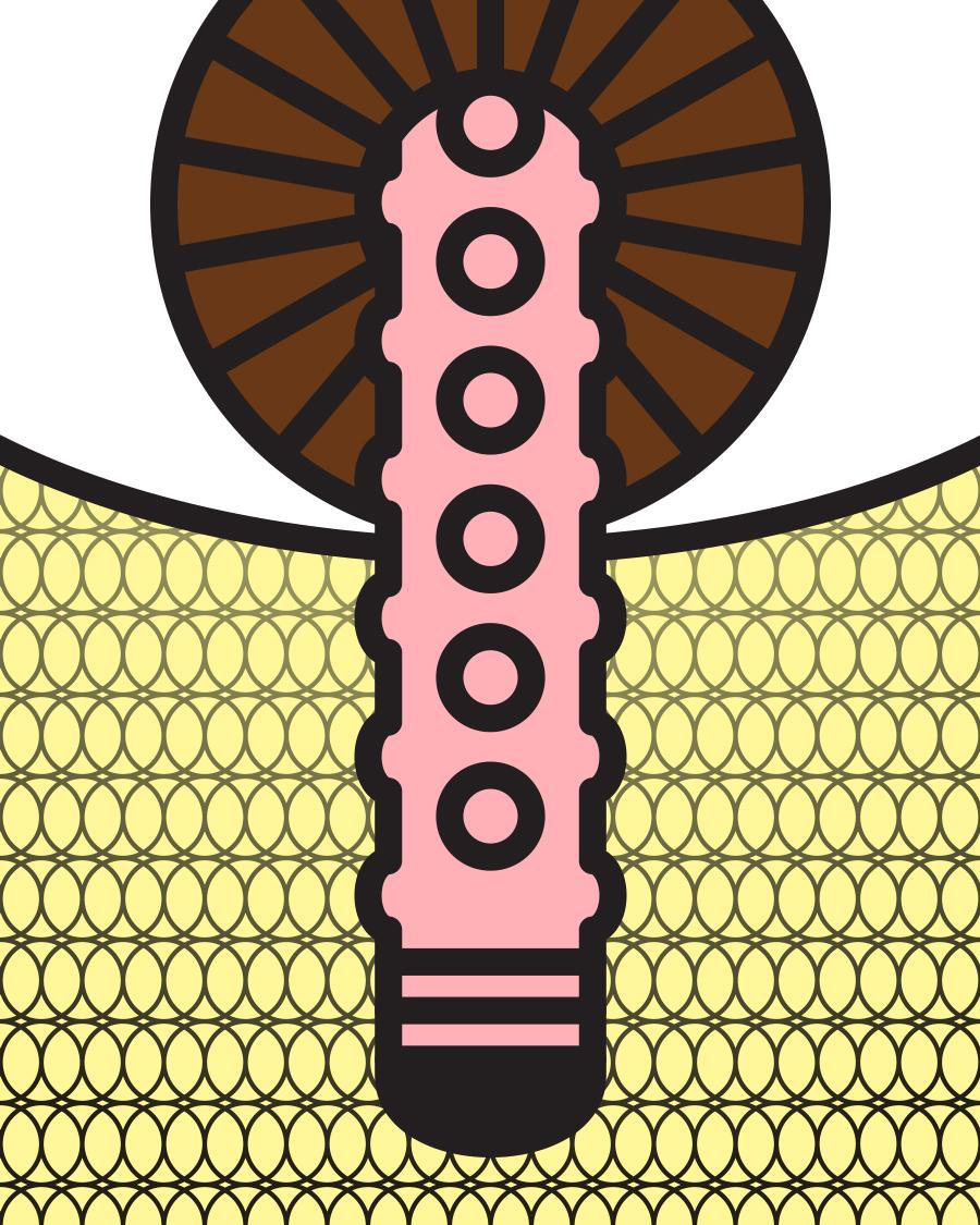 Vibrator In Brown Eye (V.I.B.E.)