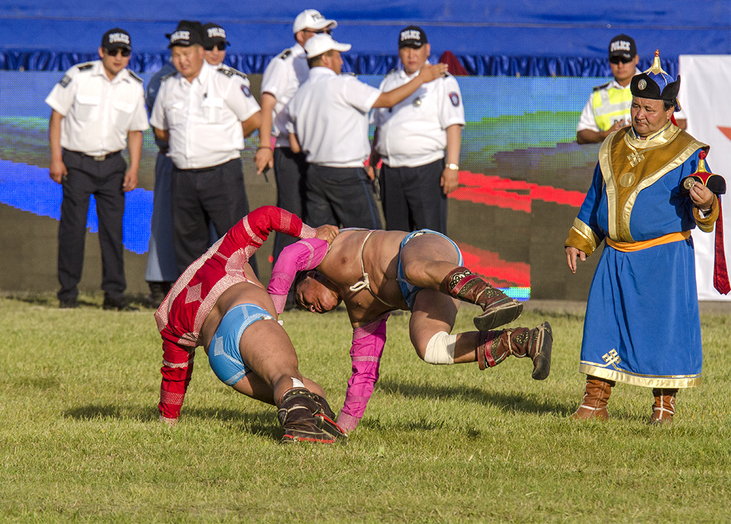 end of match at the naadam festival wrestling tournament.jpg