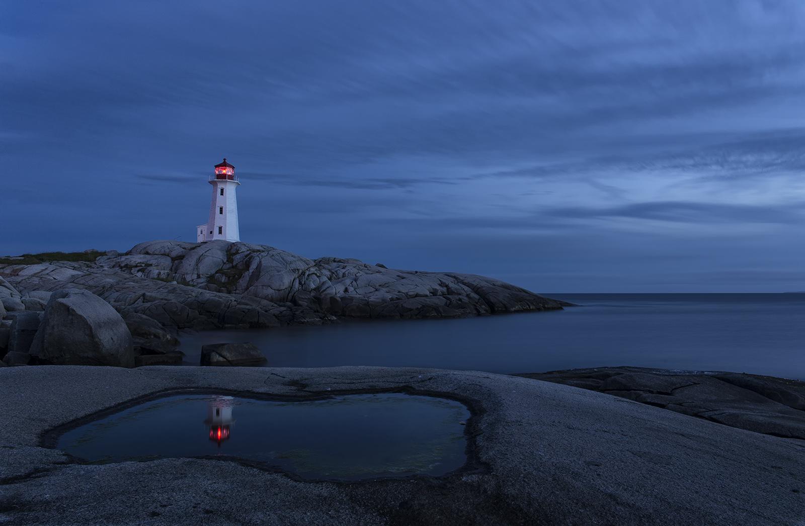 Peggys Cove At Night.jpg