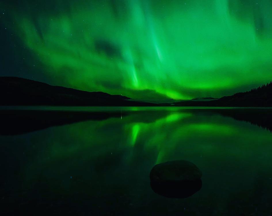 yukon northern lights photo