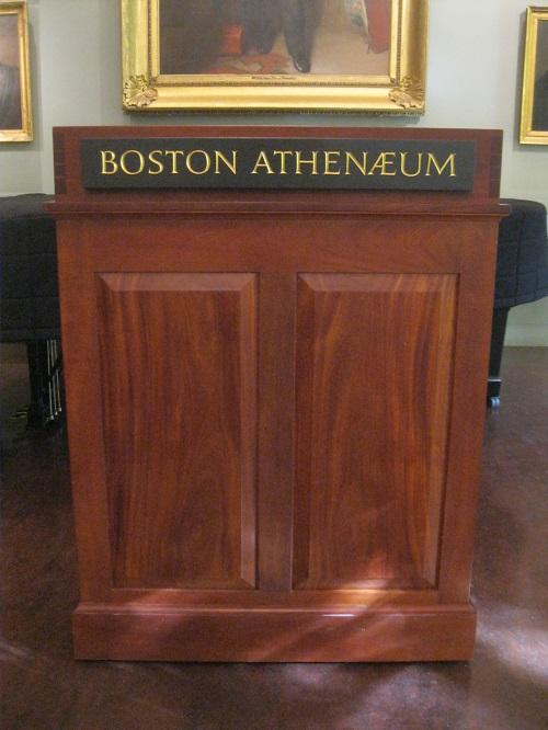 Podium Signage