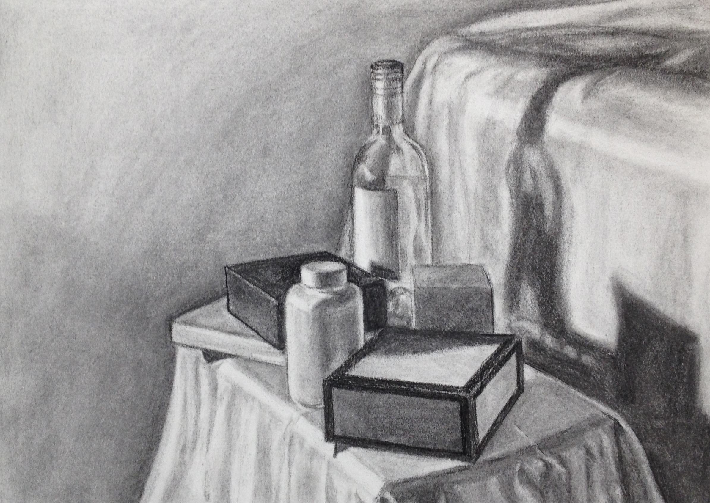 Black & White Still Life by Nancy Williams