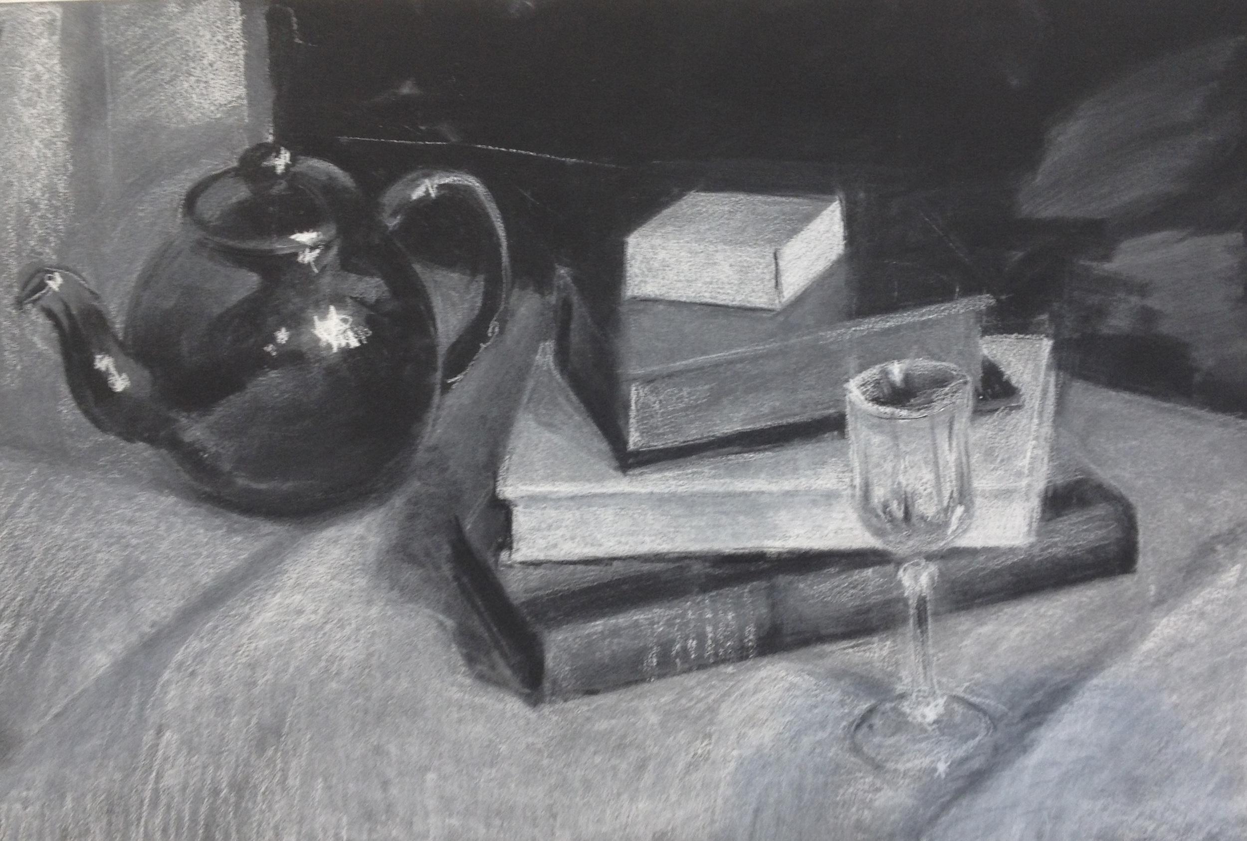 White on Black by Tom Semmes