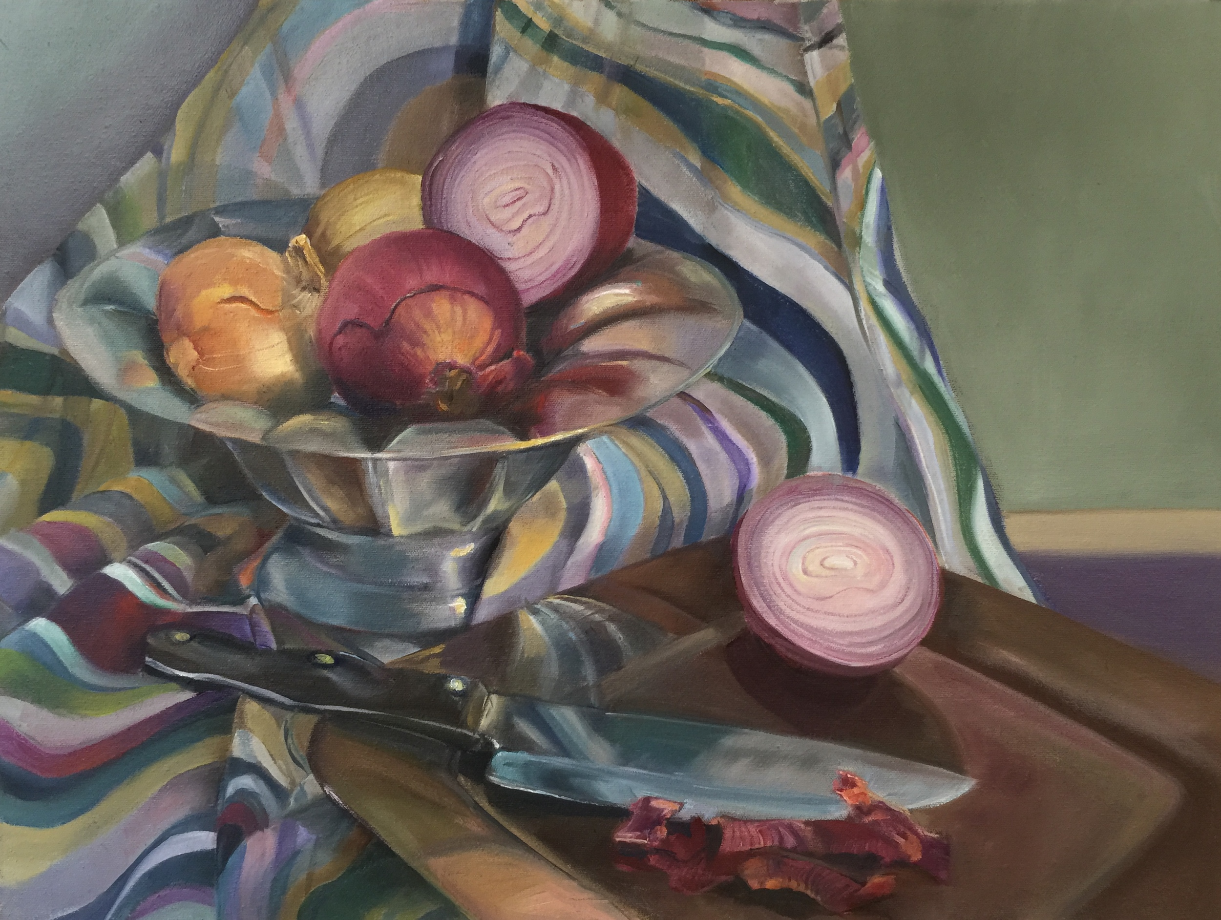Color Still Life by Cathy Abramson